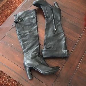 Sam Edelman tall soft leather boots.